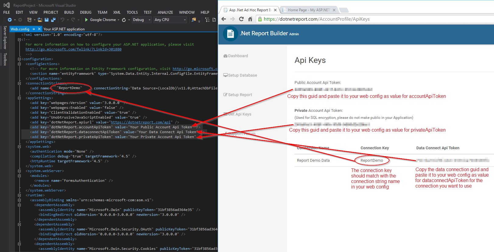 Tutorial – How to Setup .Net Report Builder